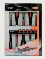 Bahco Ergo Insulated Screwdriver Set - 5 Piece